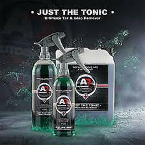 Autobrite Just The Tonic - Tar & Glue Remove 500ml - Sticky Dirt Grime Wheel Rim