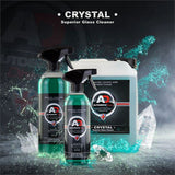 Autobrite Crystal Superior Glass Cleaner 250ml - Clear Shiny Spray Car Interior