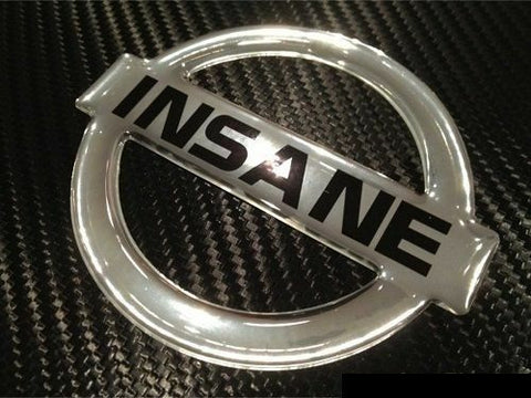 Insane Epoxy 3D Metallic Chrome for Nissan 300ZX 350Z 370Z Titan Versa Juke