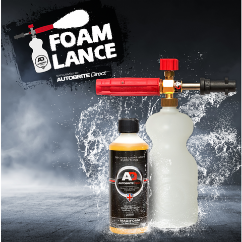 Autobrite Heavy Duty Foam Snow Foam Lance with Ultimate Magifoam Cleaner 500ml - Street FX Motorsport & Graphics