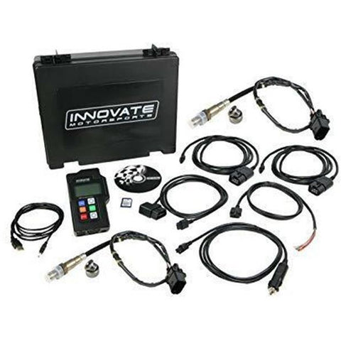 3807 Innovate LM-2 Air/Fuel AFR Ratio Meter Dual Channel O2 Sensor Complete Kit