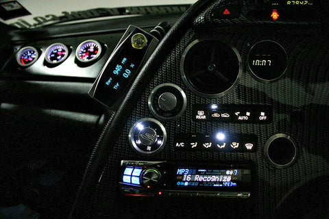 Dash - Climate Control Panel LED Kit - SUPRA -1992->2001- JZA80 - Street FX Motorsport & Graphics