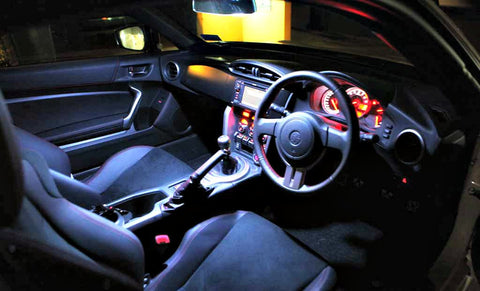 DOME Map Interior Light LED UPGRADE Toyota 86 FT86 Scion FR-S FRS Subaru BRZ GT - Street FX Motorsport & Graphics