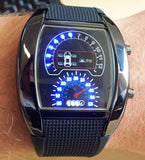 RPM Tachometer Digital LED Sports Watch
