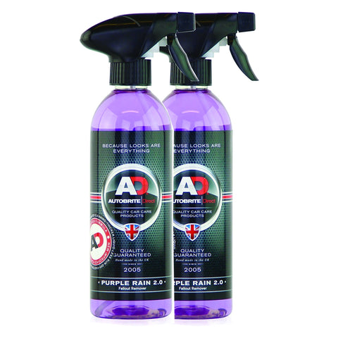 Purple Rain Iron Fallout Remover 1Litre Wheel Rim Cleaner for Ford BMW Audi VW