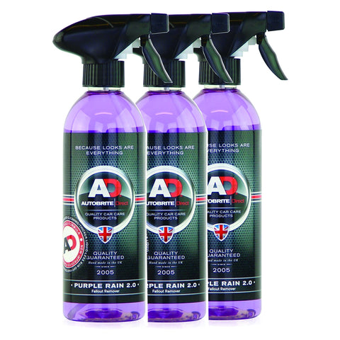 Purple Rain Iron Fallout Remover 1.5Litre Wheel Rim Cleaner for Car Ute 4x4 Euro