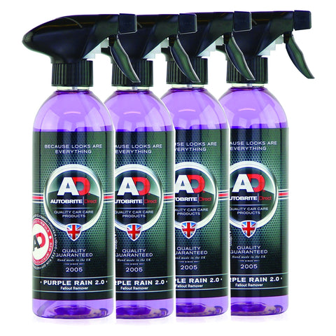 4pk Purple Rain Iron Fallout Remover 2Litre Wheel Rim Cleaner fr Truck Ute Alloy