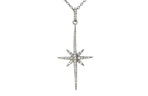 Shining star necklace.