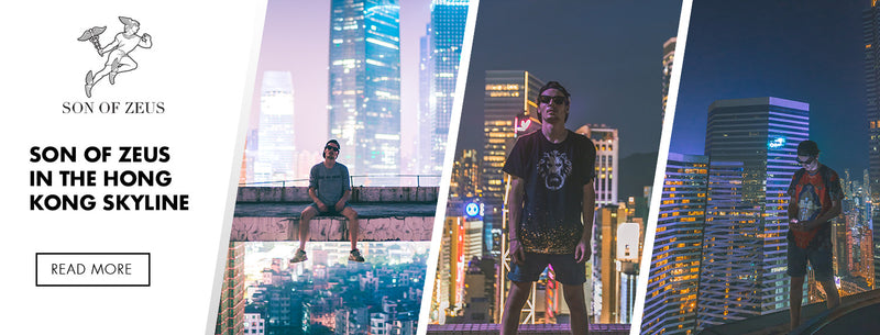 Son of Zeus Visits The Rooftops of Hong Kong
