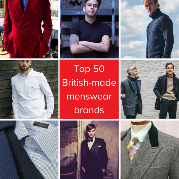 "Son of Zeus features in the Make It British ""Top 50 British-made Menswear Brands"""
