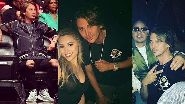 JONATHAN CHEBAN WEARS SON OF ZEUS T-SHIRT'S IN MIAMI