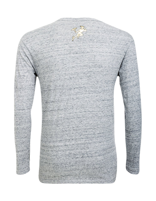 SON OF ZEUS LONG SLEEVE T-SHIRT - GREY