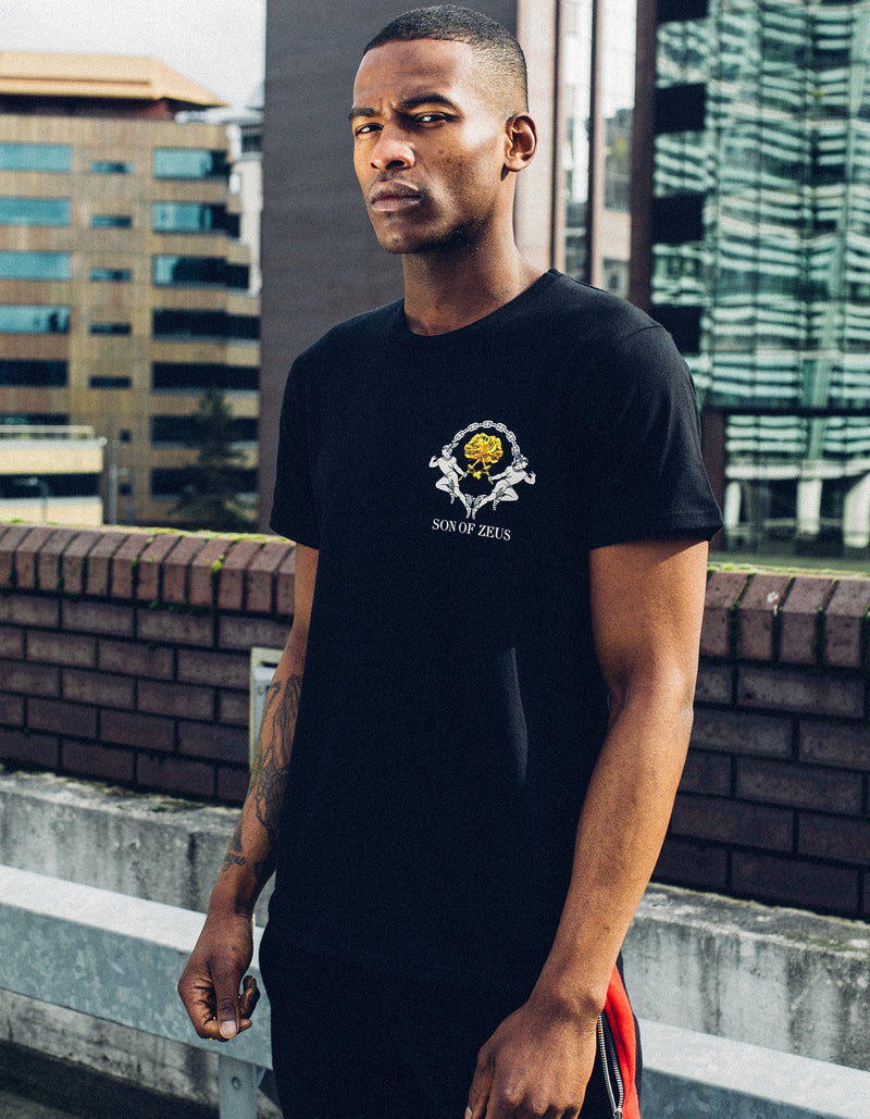 gold rose t-shirt