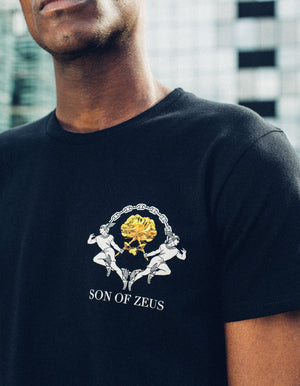 gold rose t shirt
