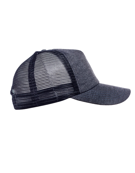 knitted trucker cap