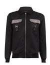 Cargo Pocket Bomber Jacket - Black