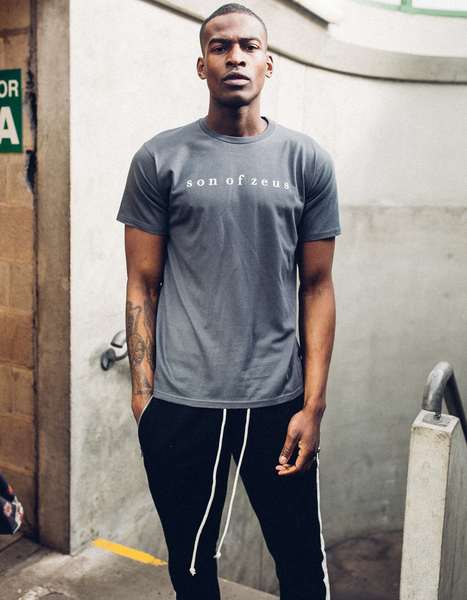 ESSENTIAL T-SHIRT - THUNDER GREY