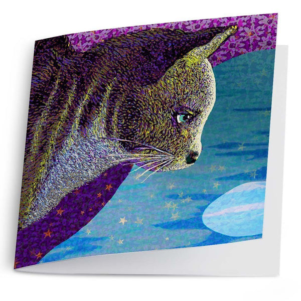 Water Moon-Greeting Card-Tony Pinchuck-Tony Pinchuck