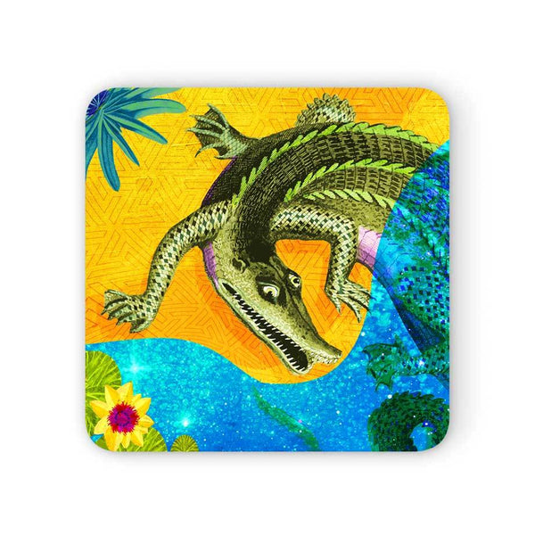Africa Dreaming Crocodile Coaster