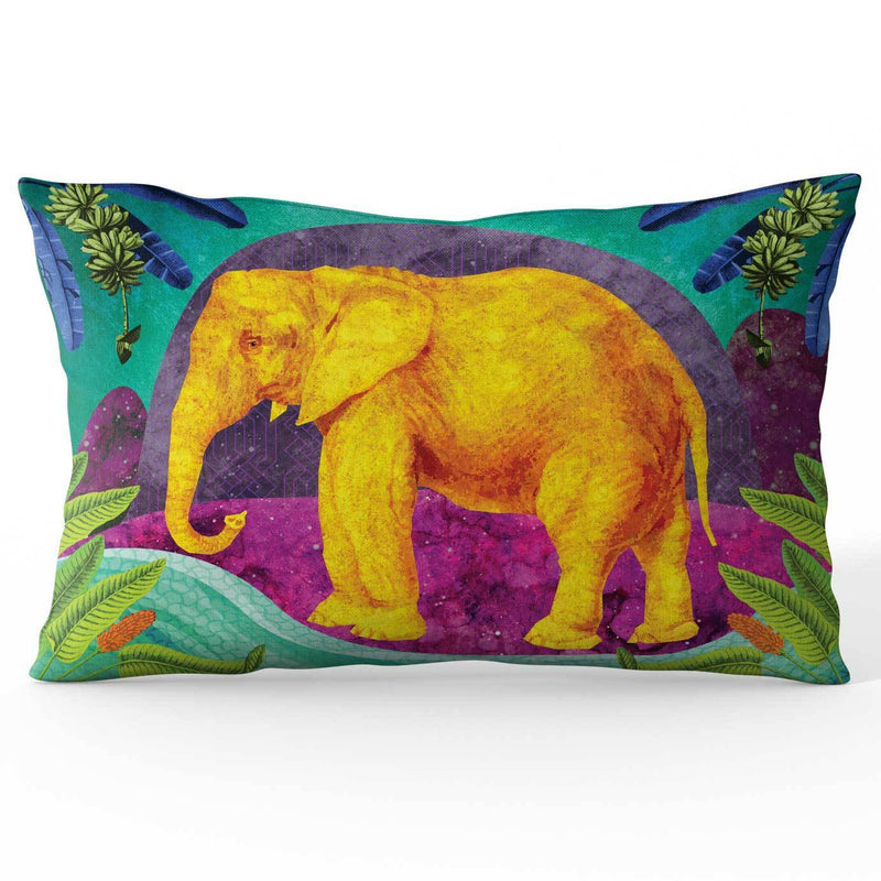 Africa Dreaming Elephant Cushion