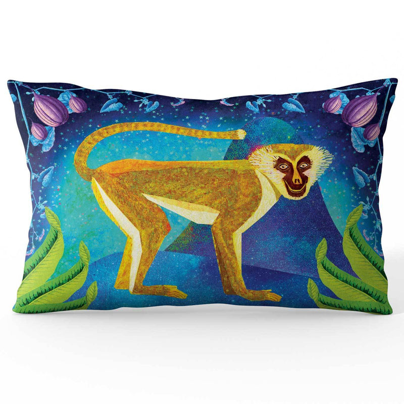 Africa Dreaming Monkey Cushion