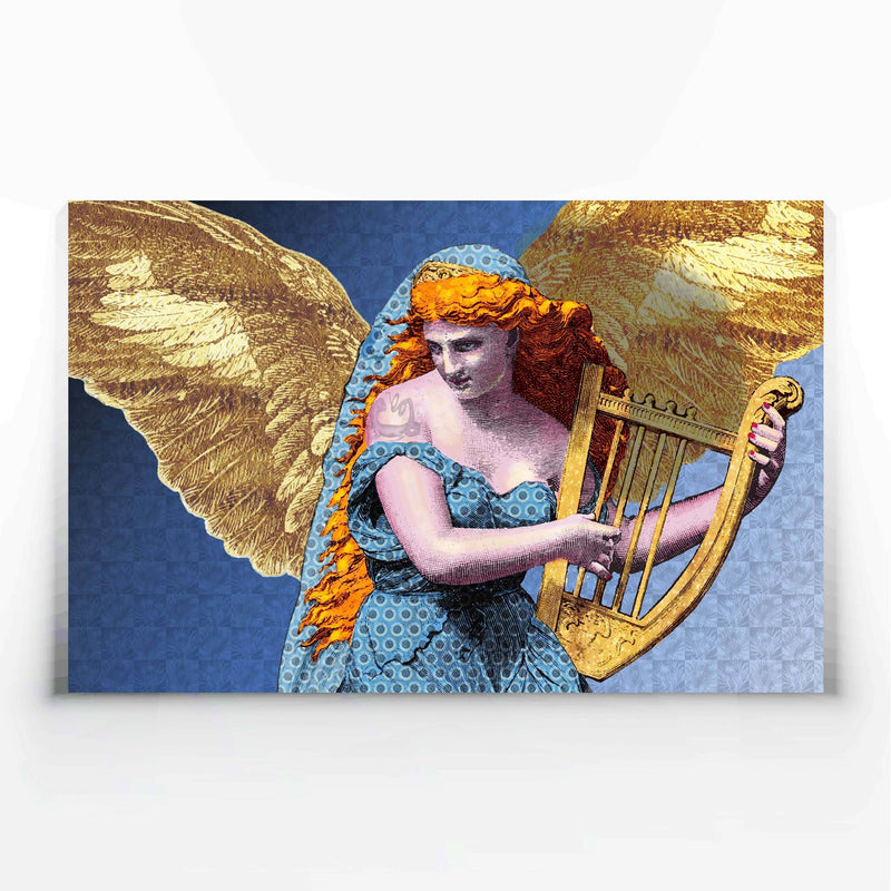 Harpy Angel Canvas Print-Canvas Prints-Tony Pinchuck-Large (130 x 80 cm/ 52 x 32 in)-Tony Pinchuck