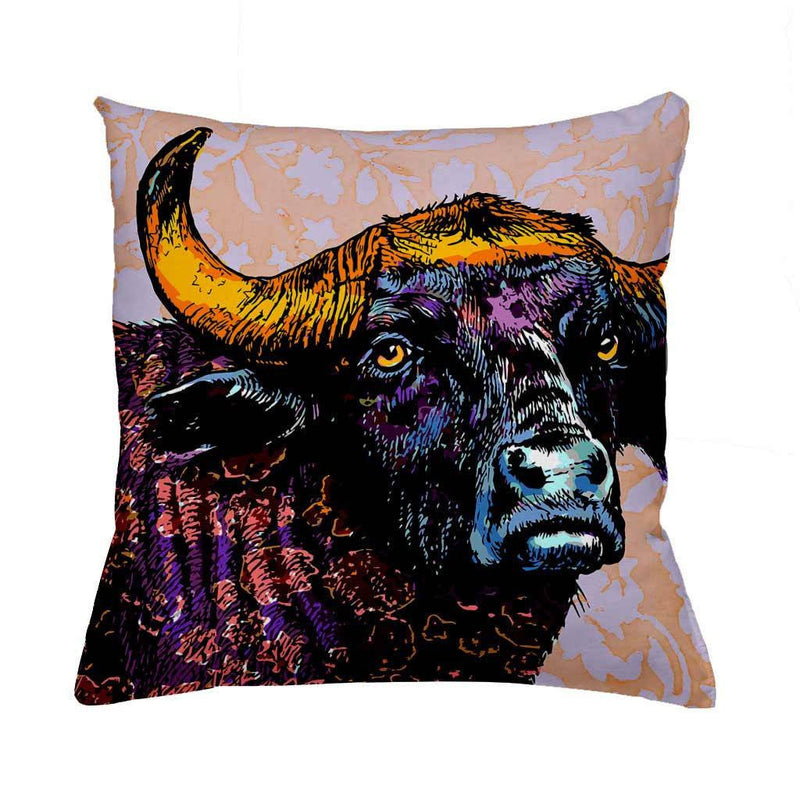 Buffalo-Cushion Cover-Tony Pinchuck-Tony Pinchuck