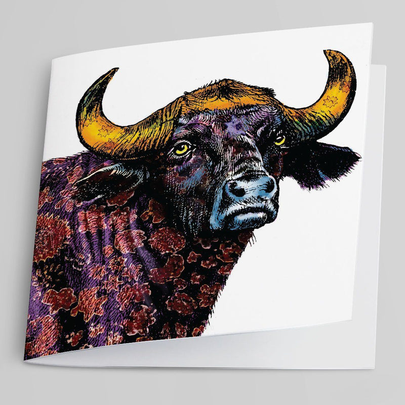 Buffalo-Greeting Card-Tony Pinchuck-Tony Pinchuck