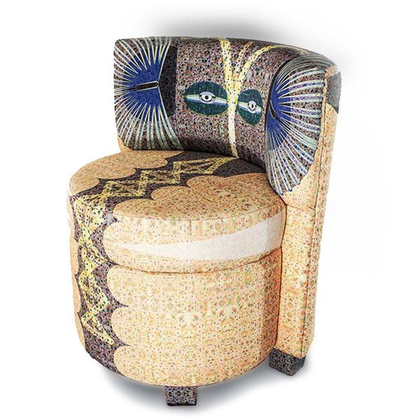 Elephant Boudoir Chair-Furniture-Tony Pinchuck-Tony Pinchuck