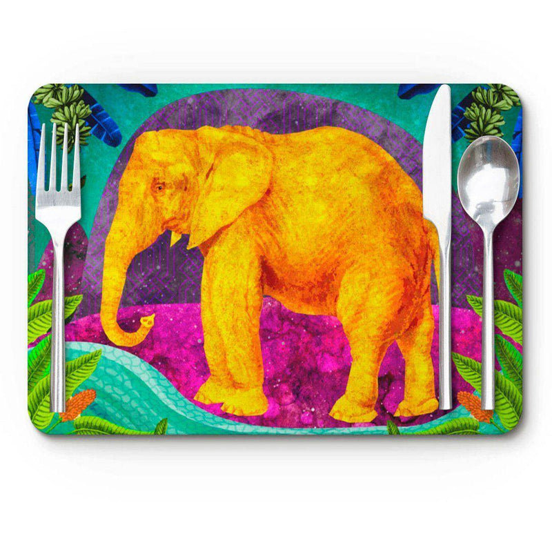Place Mat – Africa Dreaming Elephant-Place Mat-Tony Pinchuck-Tony Pinchuck