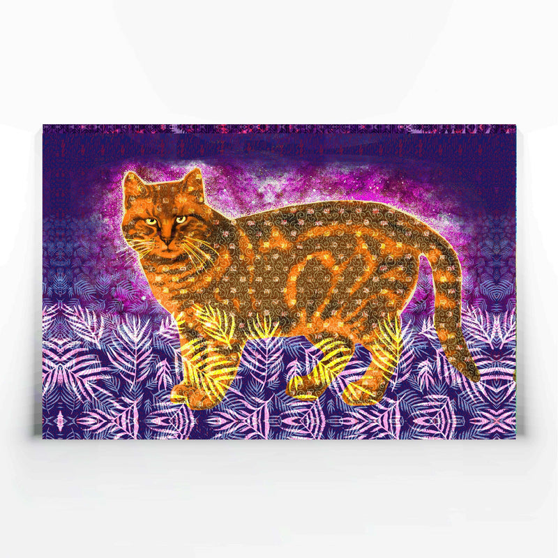 Orange Cat Canvas Print-Canvas Prints-Tony Pinchuck-Tony Pinchuck