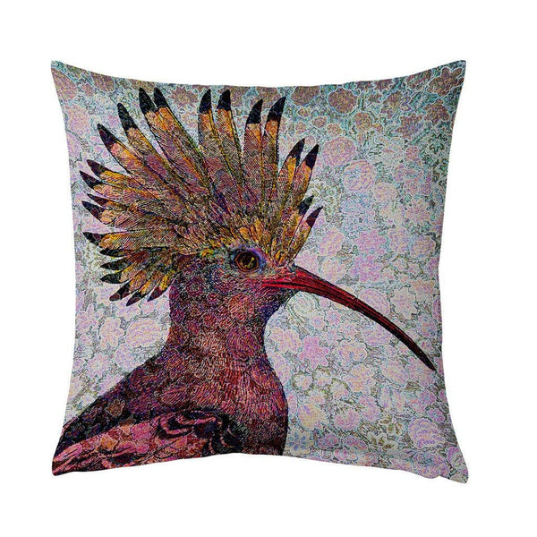 Hoopoe-Cushion Cover-Tony Pinchuck-Tony Pinchuck