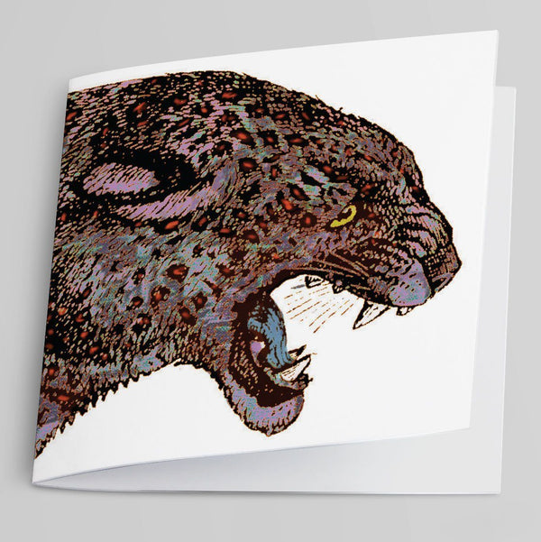 Leopard Greeting Card-Greeting Card-Tony Pinchuck-Tony Pinchuck