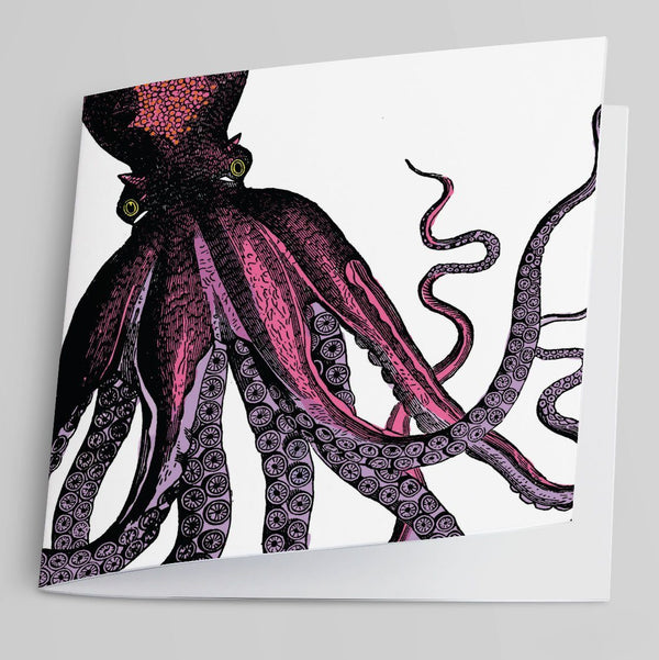 Octopus Greeting Card-Greeting Card-Tony Pinchuck-Tony Pinchuck