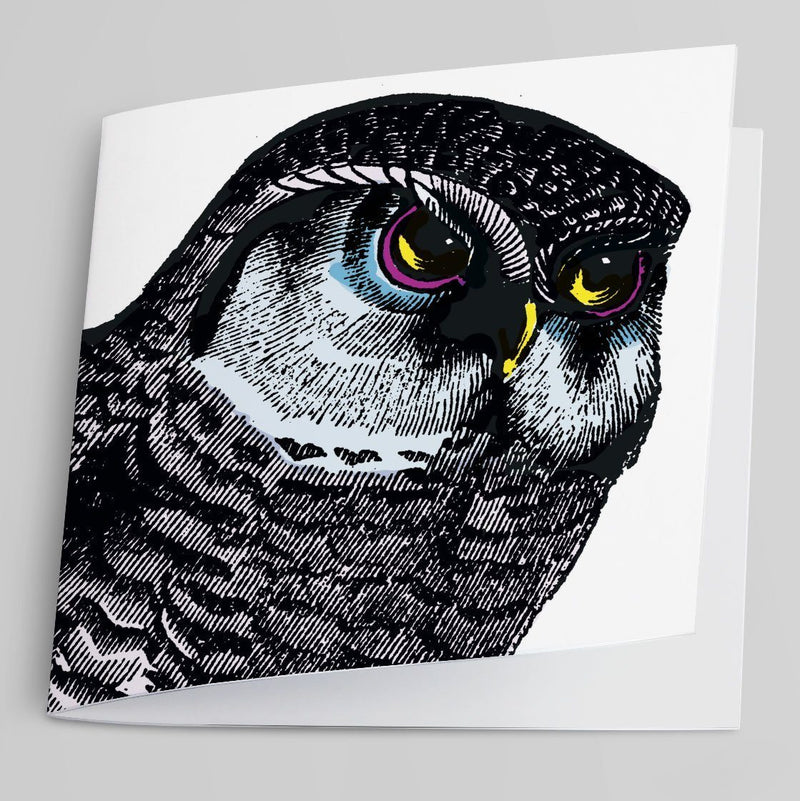 Owl Greeting Card-Greeting Card-Tony Pinchuck-Tony Pinchuck