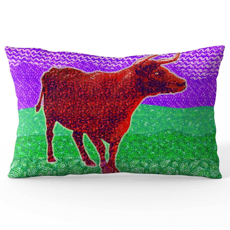 Red Bull Ramie Cushion