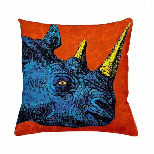 Rhino Cushion Cover-Cushion Cover-Tony Pinchuck-Tony Pinchuck