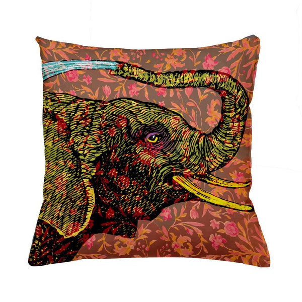 Water Elephant-Cushion Cover-Tony Pinchuck-Tony Pinchuck