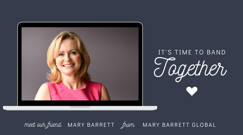 Small Business Friends | Mary Barrett from Mary Barrett Global