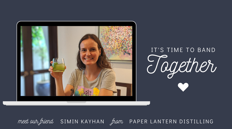 Small Business Friends | Simin Kayhan from Paper Lantern Distilling
