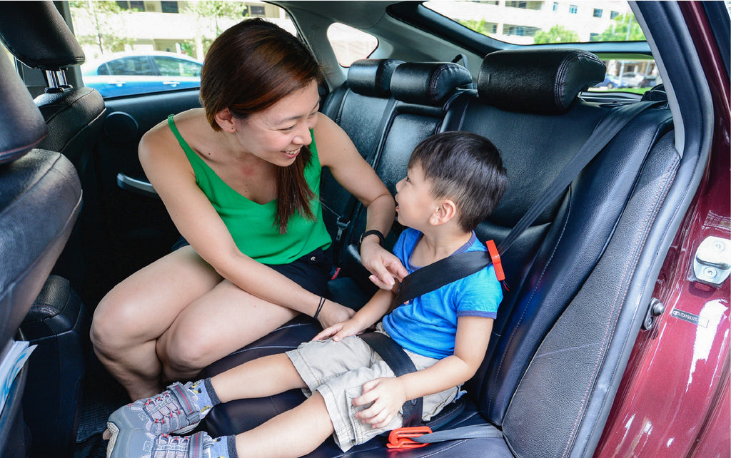 Car seat laws and regulations in Singapore