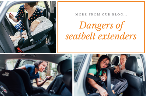 What to do when the vehicle seat belts aren't long enough