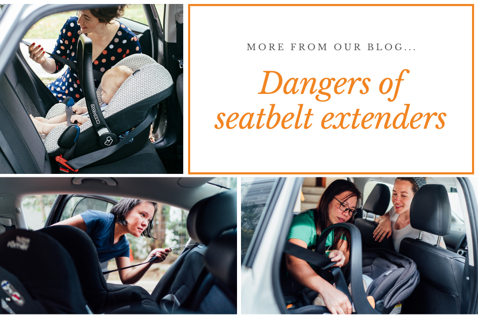 dangers of seatbelt extenders
