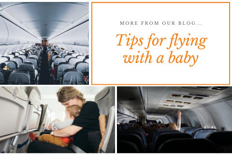 9 tips for flying with an infant