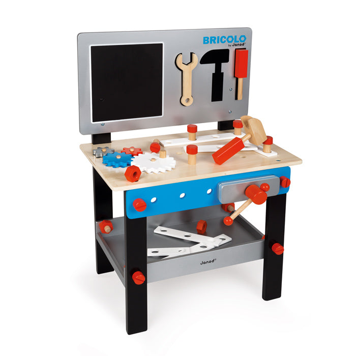 Janod DIY Workbench Blue