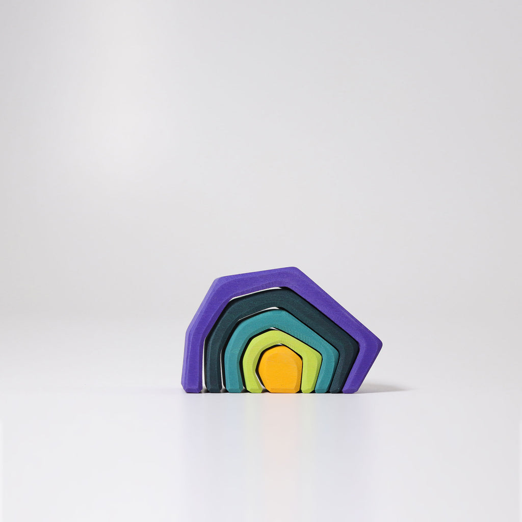 Grimms Stacking House Coloured