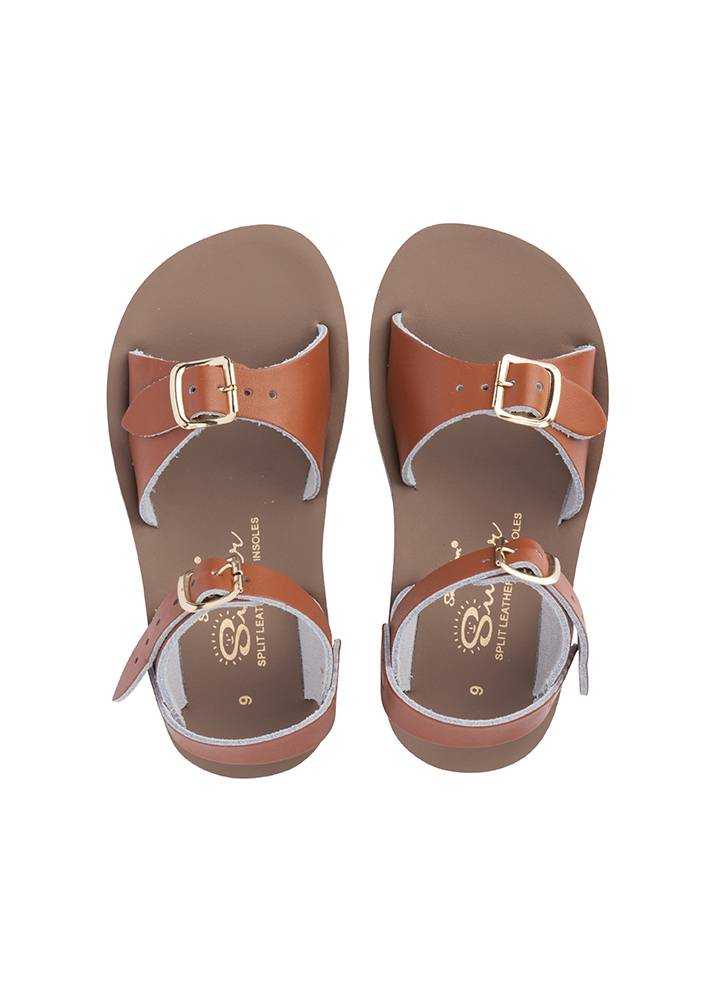 Salt Water Sandals Sun San Surfer Tan
