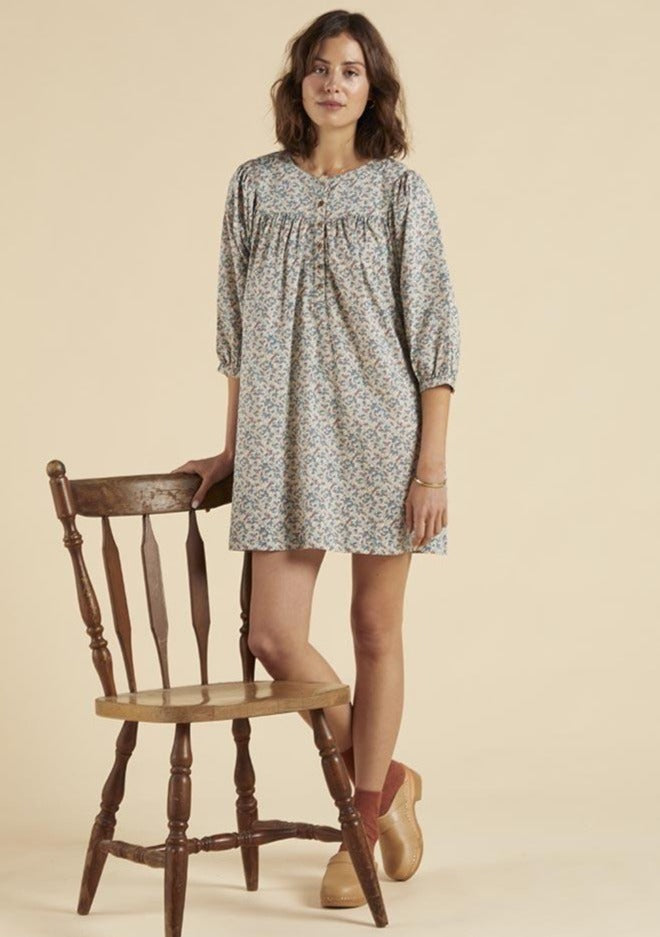 Wares by Olli Ella Flor Shift Dress Cornflower