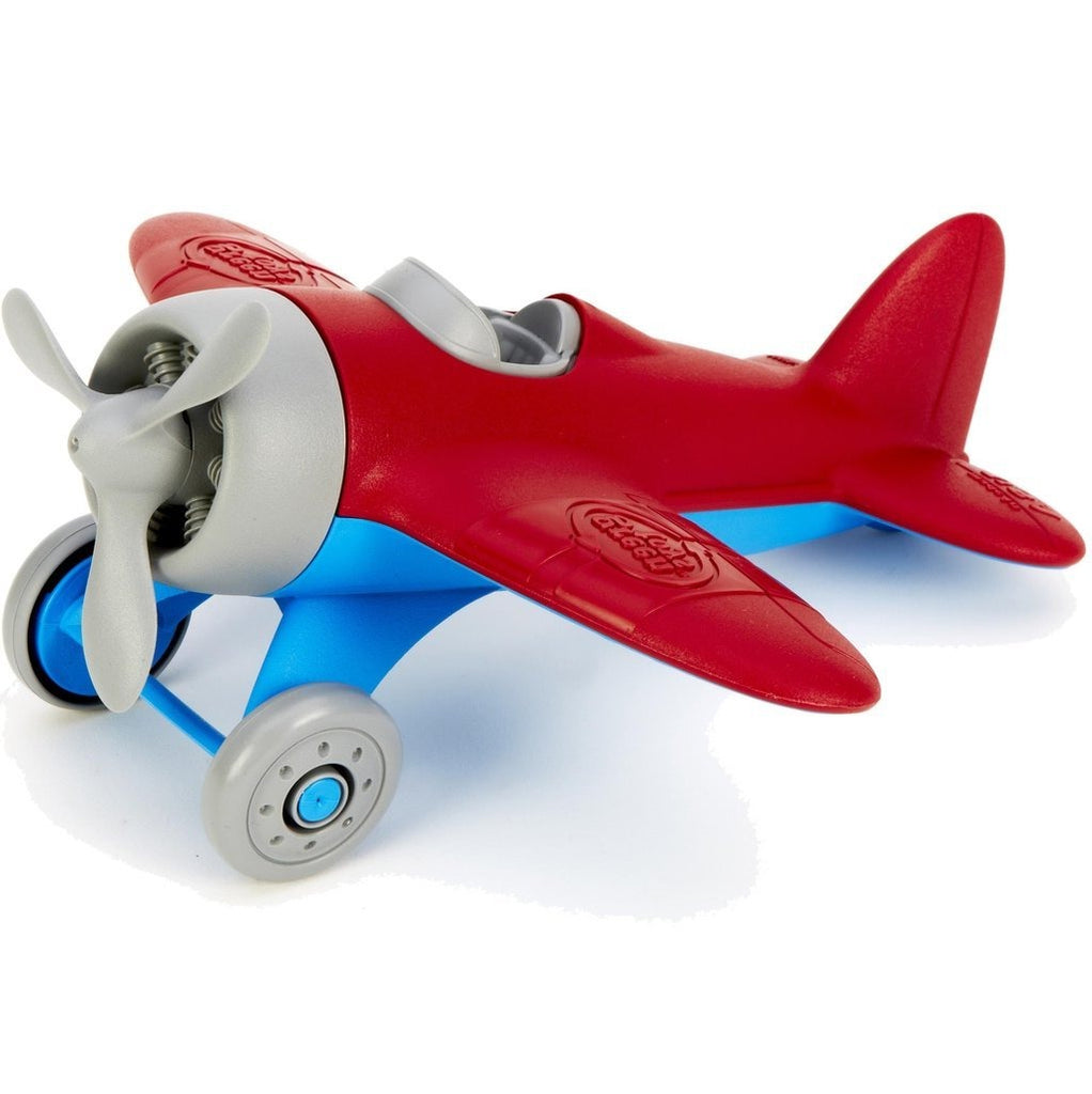 Green Toys Aeroplane Red