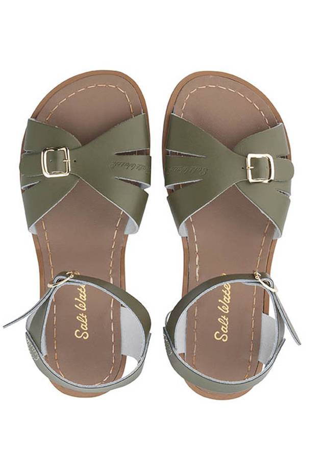 Salt Water Classic Sandals Olive